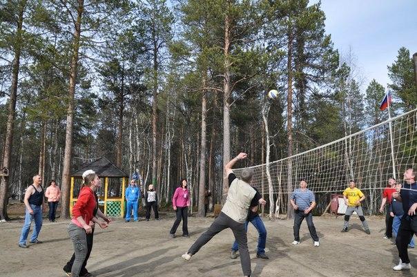 Волейбол на турбазе Фрегат