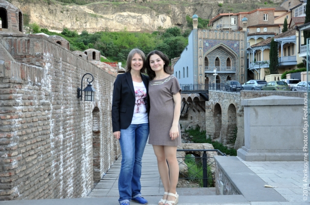 Ольга Феофанова и Лиана Мхитарян