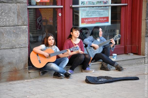 Уличные музыканты, Тбилиси