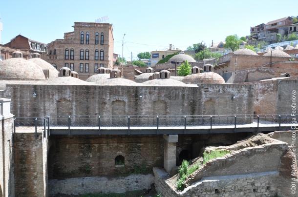 Царские серные бани, Тбилиси
