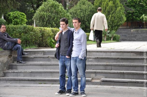 Мужская дружба в Тбилиси