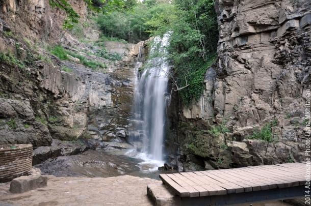 Водопад из Ботанического сада, Тбилиси