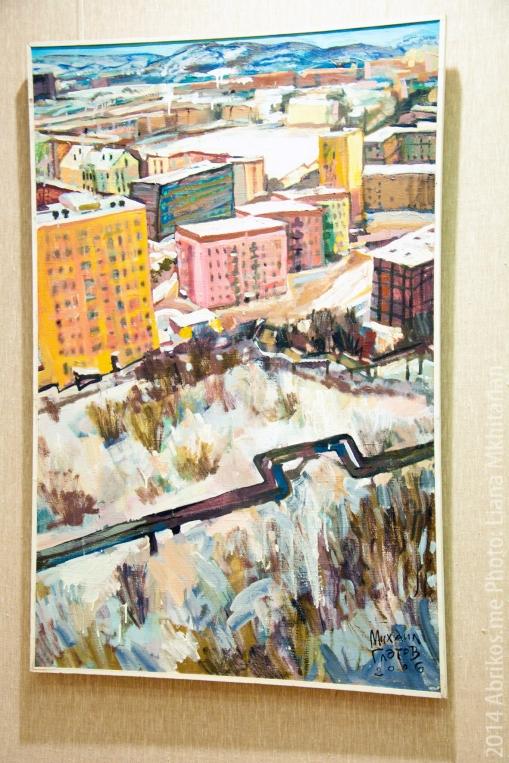 Персональная выставка Михаила Глотова в Мурманском областном художественном музее