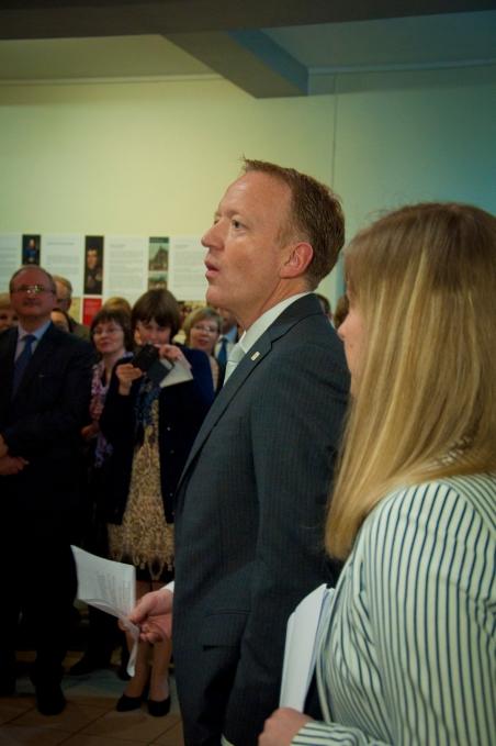 Генеральное консульство королевства Норвегия в Мурманске открылось после ремонта23