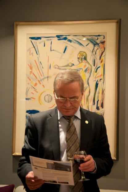 Генеральное консульство королевства Норвегия в Мурманске открылось после ремонта29