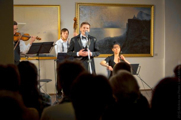 Концерт в областном художественном музее