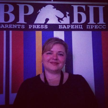 Анна Киреева, председатель Баренц Пресс
