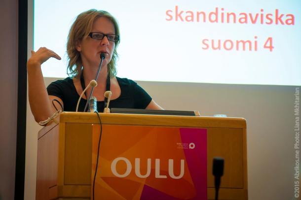 Анна-Лена Лаурен, финская журналистка
