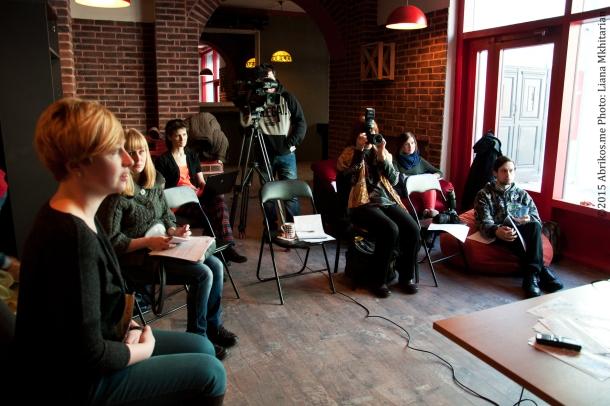 Пресс-конференция в офисе Птица Баренц