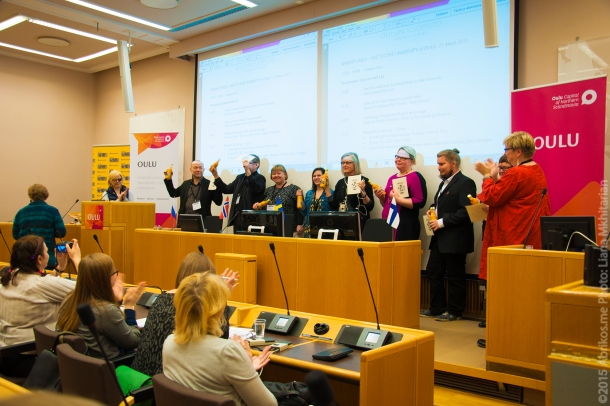 Финскую делегацию благодарят за проделанную работу