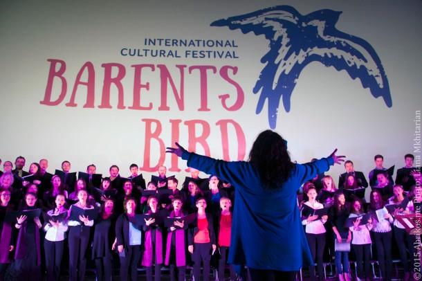 Баренц Хор: открытие фестиваля Птица Баренц-2015