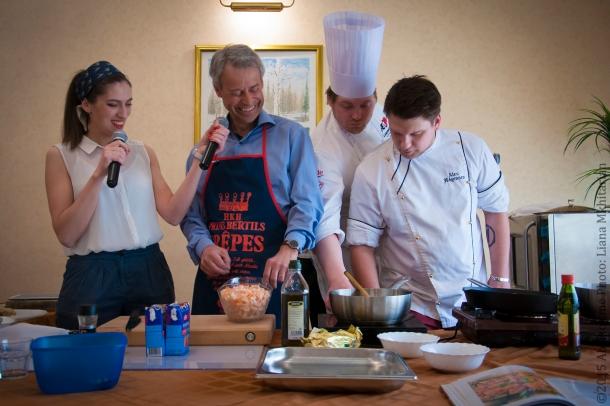 Мастер-класс по норвежской кухне  10
