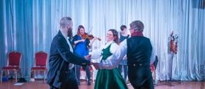 Норвегия поделилась танцем