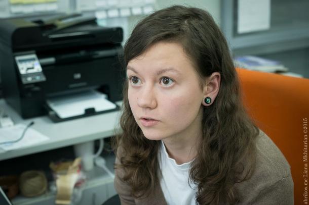 "Алёна Жирова, соорганизатор фестиваля ""Фреска"""