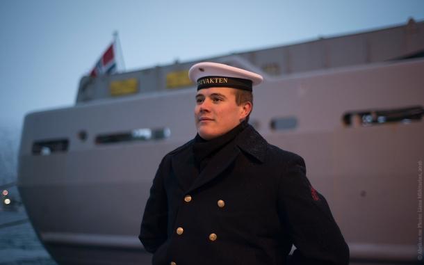 Моряк, служащий на норвежском ледоколе «Свальбард»