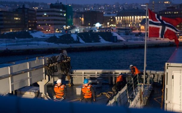 На ледоколе «Свальбард»