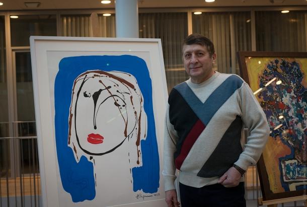 Выставка картин Анатолия Сергиенко из частной коллекции Гёриль Йохансен