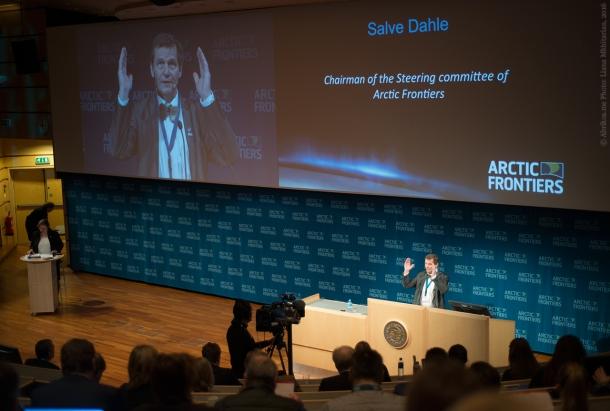На конференции «Арктические рубежи - 2016» в университете Тромсе