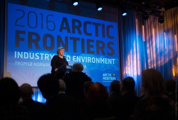 Премьер-министр Норвегии Эрна Сульберг