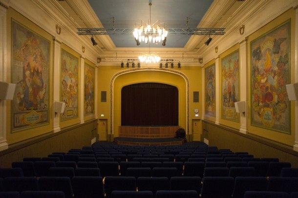 Верденстеатр, старейший в Европе кинотеатр,Тромсё