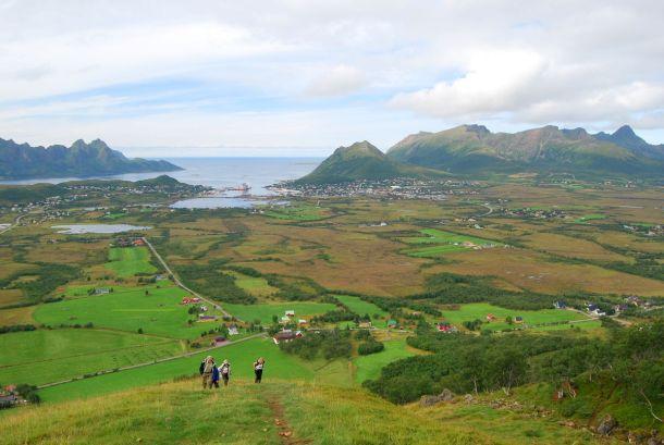 Вид на острове Skogsøya.