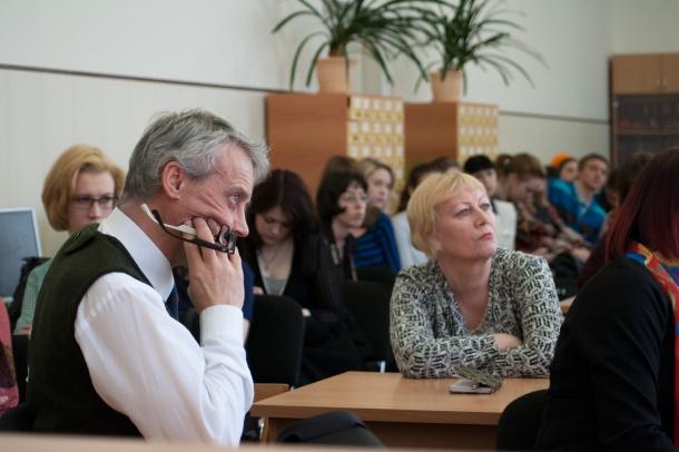 Встреча с Хербьёрг Вассму в МАГУ