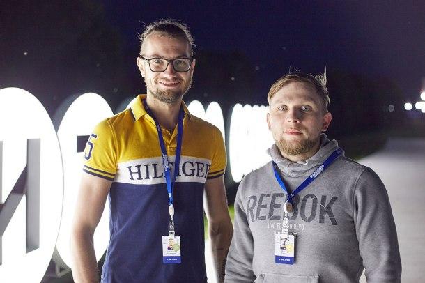 Святослав Ширвель и Денис Лашин. Фото Александра Рябинкина