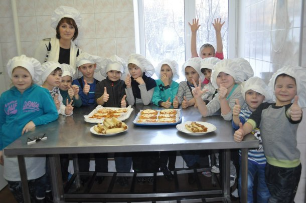 Виктория Якунина с учениками